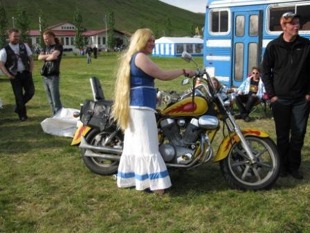 Myndir þessar eru eign Óskabarna Óðins MC Landsmót Húnaveri 2010